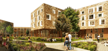 University of Cambridge housing development