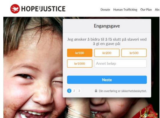 Hope For Justice Norway