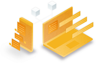 Ieso service architecture illustration designed by Fluent